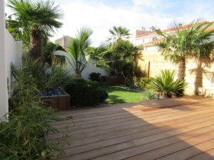 terrasse bois exotique paysagiste vendée