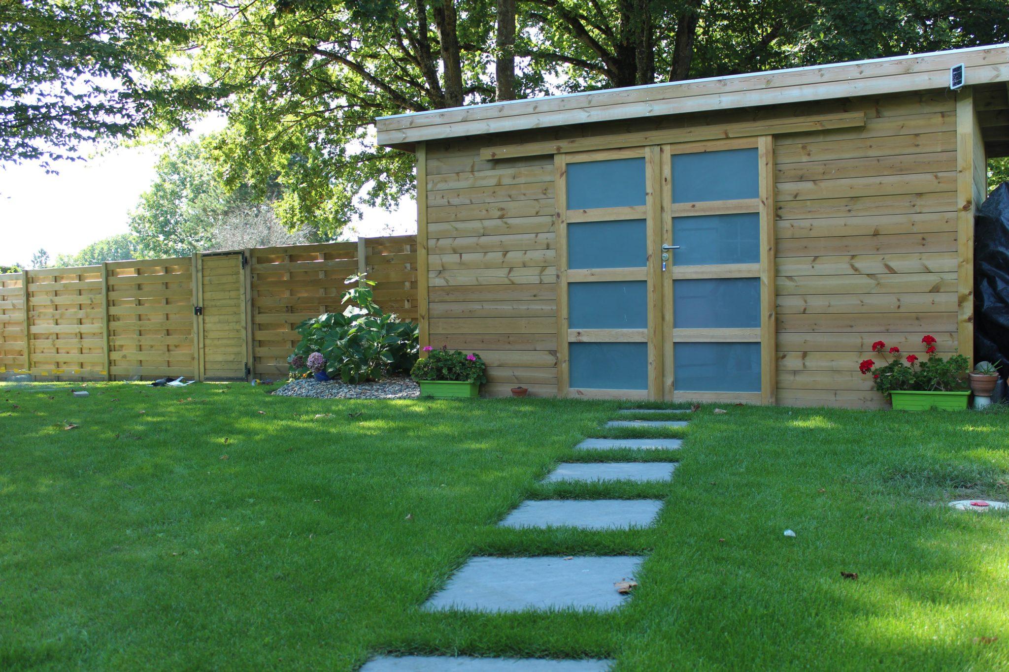 Abri de jardin marmin paysage for Entretien jardin vendee