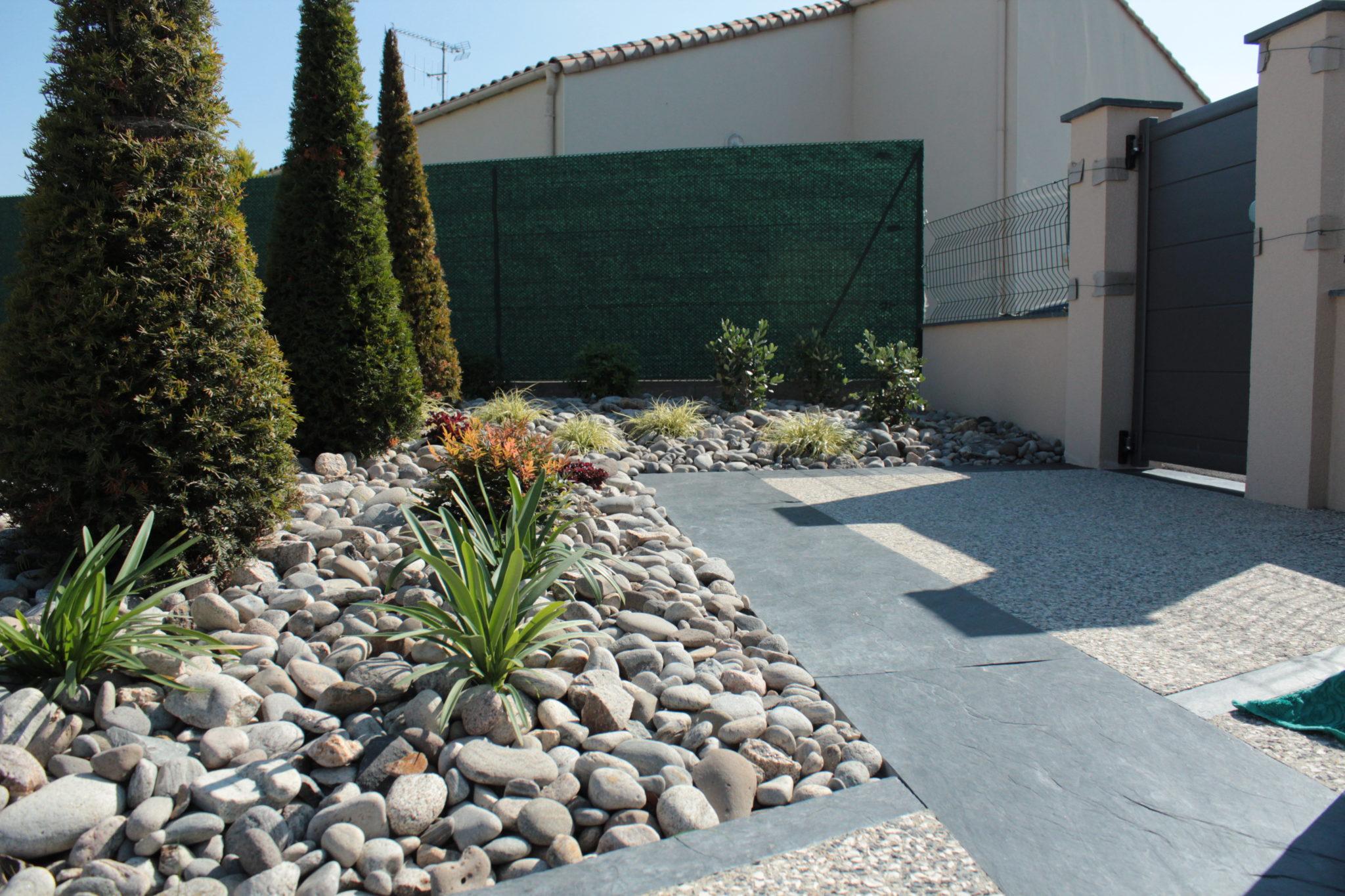 Palis d 39 ardoise marmin paysage for Entretien jardin vendee