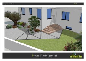 PAYSAGISTE PLAN D AMENAGEMENT JARDIN MARMIN VENDEE