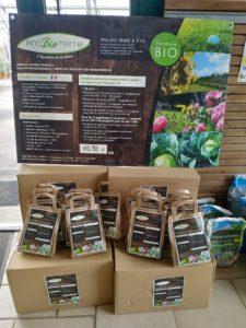 sachet engrais pro bio terre