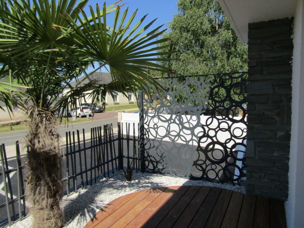 paysagiste cloture terrasse